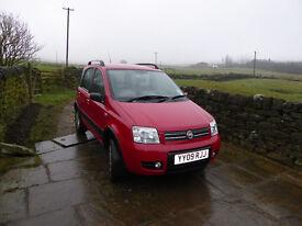 2009 FIAT PANDA 4X4, 5 DOOR HATCHBACK, 35,000 MILES, 6+ MONTHS MOT