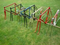 Vintage Steel Road bike Frames Retro Frame or Eroica - good rage of Italian and English