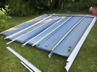 Conservatory roof - car port - porch
