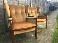 Parker Knoll Pair of Arm chairs 988 Delivery possible.
