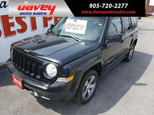 2016 Jeep Patriot Sport/North LEATHER HEATED SEATS, SUNROOF, 4X4