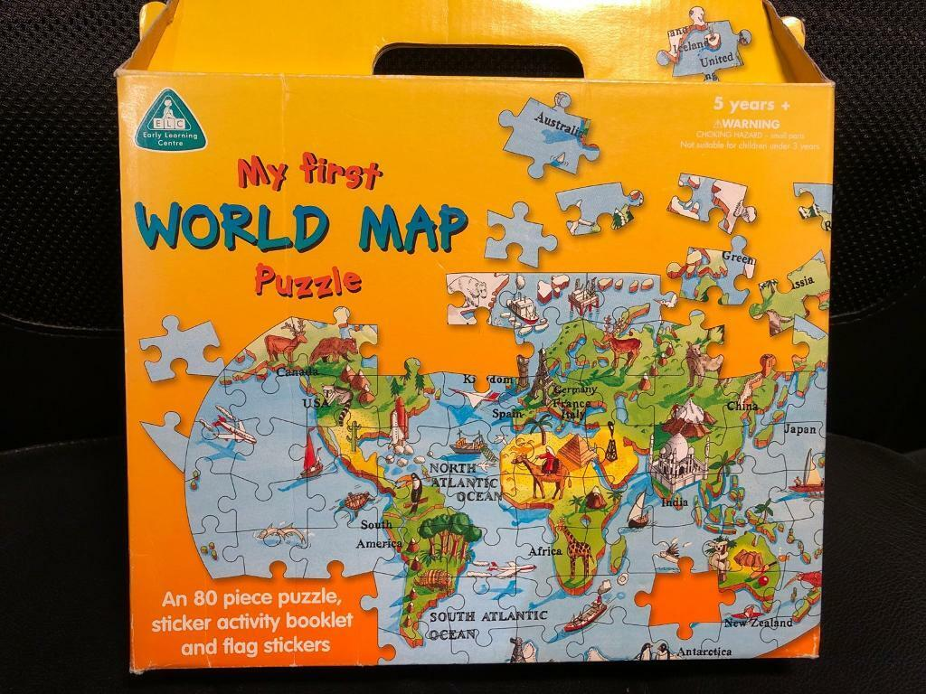My First World Map Puzzle In Tonbridge Kent Gumtree