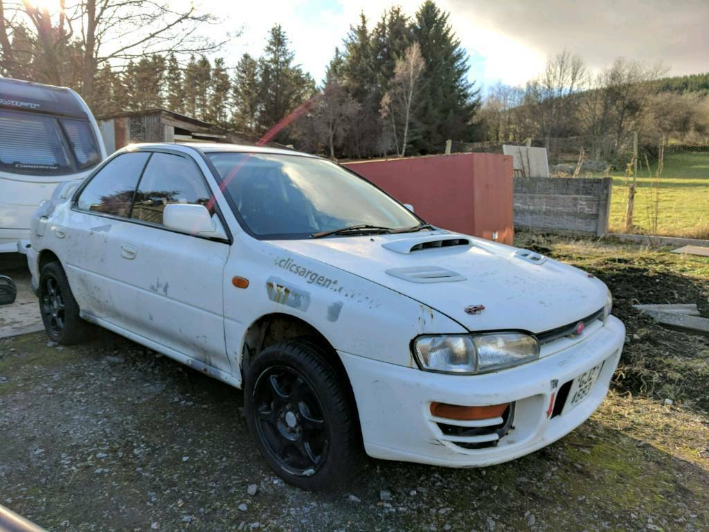 Subaru impreza gc8 rally car project