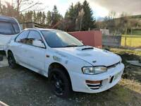 Subaru impreza gc8 rally car project