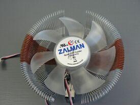 Zalman CNPS7500-ALCU LED Cooler 120mm Including Speed Controller - Reduced