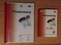 ((((( Phlebotomy Book + NHS Phlebotomy Booklet - £15 Only ! )))))