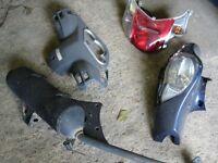 Honda Dylan ,NES ,FES ,PES,SH exhaust ,shock,panel ,engine,fork,tyre ,wheel,seat,clutch ,speedo