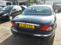 JAGUAR X TYPE V6 BLUE 4 DR SALOON AWD