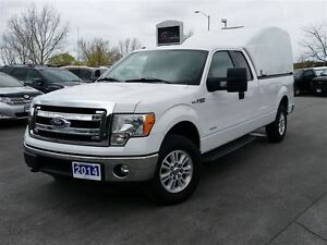 2014 Ford F-150 XLT-SUPER CAB-4X4-8' BOX W/UTILITY CAP-INVERTER