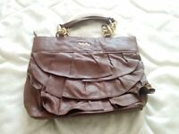 Genuine Calf Leather Billy Bag Handbag