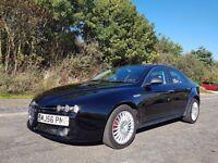 2006 Alfa Romeo 159 1.9 diesel manual 6 speed black long mot