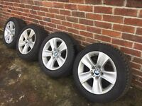 BMW Alloy Wheel and Winter Tyres