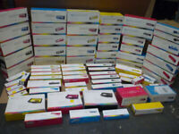 75 x Branded Toner Ink Cartridges Wholesale Bulk Job Lot Joblot Clearance - New
