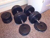 30kg Dumbbell Set (Each one weights 15kg)