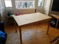 IKEA table alone
