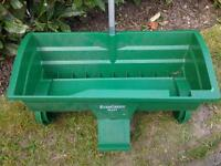 Evergreen Maxi Lawn Spreader as new condition