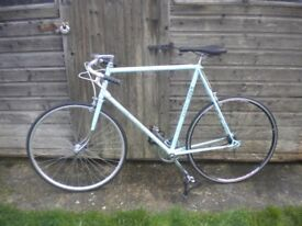 "Vintage Retro Single Speed Eroica Steel 1970's Barry Hoban Large Frame 25"" Not Fixie"