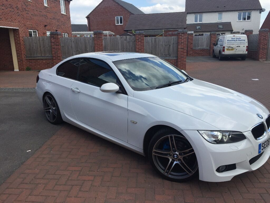bmw 3 series coupe m sport 2l in ibstock leicestershire gumtree. Black Bedroom Furniture Sets. Home Design Ideas