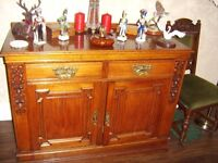 Vintage/Antique Oak Sideboard