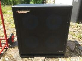 Ashdown ABM 4x10 bass cab UK made