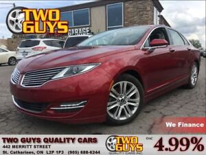 2014 Lincoln MKZ 2.0L   RESERVE GROUP  NAV   FWD