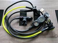 Oceanic FDXi and Omega 3 reg set with Suunto Viper gauge set