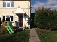 Large 2 bed house. Chedzoy Bridgwater.