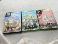 Shrek DVD's