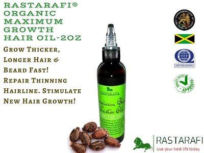 Rastarafi® Pure Jamaican Black Castor Oil Extra Dark | Fast Hair Growth ()