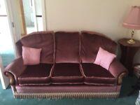 Suite of furniture. 3+1+1