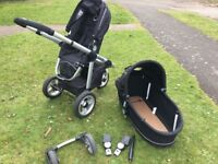 iCandy Apple, Pram and Stroller combination (maxi cosy carrier attachments included)