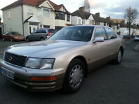 LEXUS LS 400 AUTOMATIC, LOW MILEAGE, EXCELLENT CONDITION .IS200 GS300 lS400