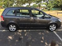 2009 Vauxhall Zafira 1.6 i 16v Exclusiv 5dr pco Licence 7 Seater