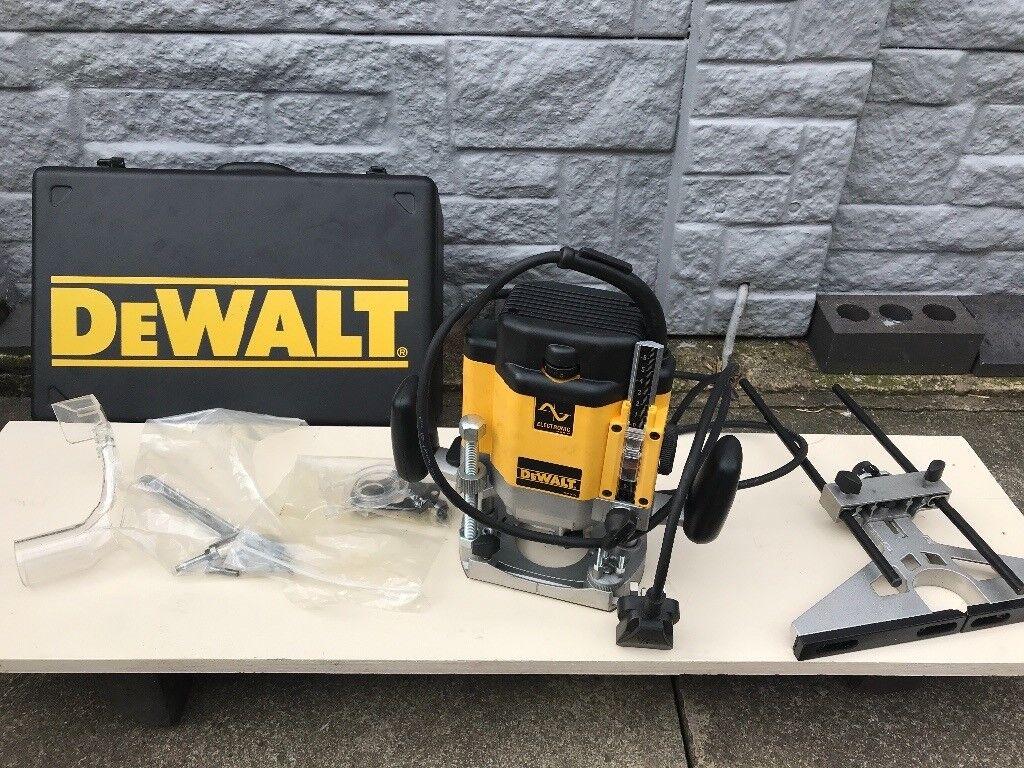 Dewalt dw625 router in bedworth warwickshire gumtree dewalt dw625 router greentooth Image collections