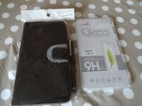 brand new mobile phone case with phone screen protector