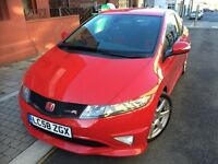 HPI CLEAR HONDA CIVIC GT TYPE R SERVICED 2 OWNER 2 KEYS PX SWAP RED