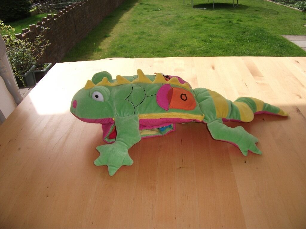 ELC LEARN THE ALPHABET CROCODILE SOFT PLUSH