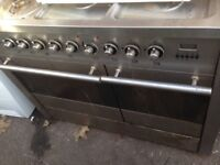 Stainless steel Range gas cooker 90cm......Mint free delivery