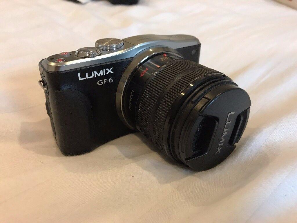 Panasonic GF6 camera with 14-42mm lens
