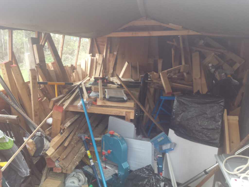 Garden Sheds Workshops cupboards inside garden shed the wooden workshop bampton devon