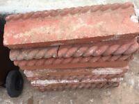 Rope Top Garden Edging..Terracotta Coloured
