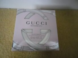 Womens Gucci Bamboo EDT 50ml Brand New still sealed in cellophane
