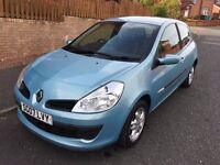 RENAULT CLIO 1.2 RIP CURL 3 DOOR ** 07 PLATE ** 50,000 MILES FROM NEW **
