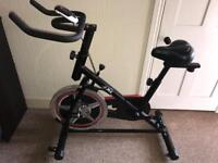 Jkl spin exercise bike VGC hardly used Can deliver