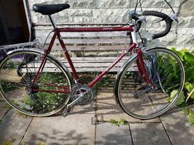 Vintage Raleigh Routier gent's bike, £150 ono.