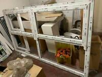 BRAND NEW PVC white window for sale
