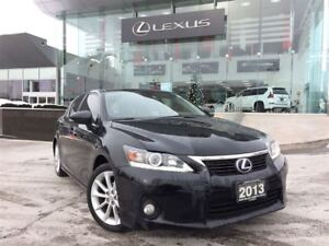 2013 Lexus CT 200h Touring Pkg Bluetooth Leather Sunroof