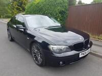 BMW 7 SERIES 3.0 730D SPORT 4d AUTO 228 BHP Soft close doors. Black pack. (black) 2006