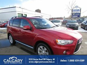 2011 Mitsubishi Outlander XLS/AWD/LEATHER-SUNROOF/7-PASSENGER