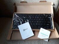 Wireless jetech small keyboard. Never used still in original packaging